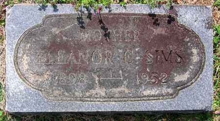 SIMS, ELEANOR C. - Louisa County, Virginia | ELEANOR C. SIMS - Virginia Gravestone Photos