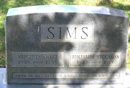 SIMS, VIRGINIA - Louisa County, Virginia | VIRGINIA SIMS - Virginia Gravestone Photos
