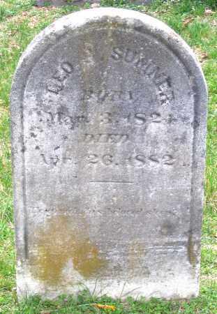SUMNER, GEORGE - Louisa County, Virginia   GEORGE SUMNER - Virginia Gravestone Photos