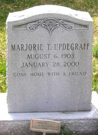 UPDEGRAFF, MARJORIE T. - Louisa County, Virginia | MARJORIE T. UPDEGRAFF - Virginia Gravestone Photos