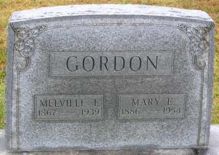 GORDON, MELVILLE T. - Madison County, Virginia | MELVILLE T. GORDON - Virginia Gravestone Photos