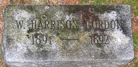 GORDON, W. HARRISON - Madison County, Virginia | W. HARRISON GORDON - Virginia Gravestone Photos