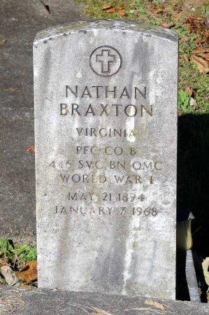BRAXTON, NATHAN - Middlesex County, Virginia   NATHAN BRAXTON - Virginia Gravestone Photos