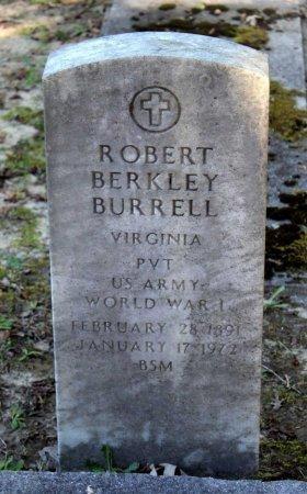 BURRELL, ROBERT BERKLEY - Middlesex County, Virginia   ROBERT BERKLEY BURRELL - Virginia Gravestone Photos