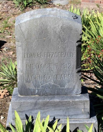 FITZGERALD, EDWARD - Middlesex County, Virginia   EDWARD FITZGERALD - Virginia Gravestone Photos