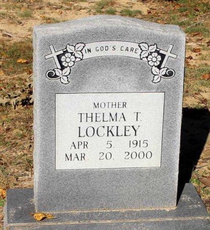 LOCKLEY, THELMA T. - Middlesex County, Virginia | THELMA T. LOCKLEY - Virginia Gravestone Photos