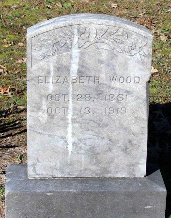 WOOD, ELIZABETH - Middlesex County, Virginia | ELIZABETH WOOD - Virginia Gravestone Photos