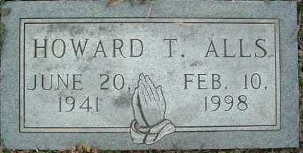 ALLS, HOWARD T. - Montgomery County, Virginia | HOWARD T. ALLS - Virginia Gravestone Photos