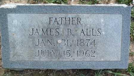 ALLS, JAMES B. - Montgomery County, Virginia | JAMES B. ALLS - Virginia Gravestone Photos