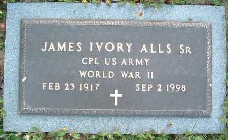 ALLS, JAMES IVORY SR. - Montgomery County, Virginia   JAMES IVORY SR. ALLS - Virginia Gravestone Photos