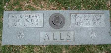 ALLS, OPAL STAFFORD - Montgomery County, Virginia | OPAL STAFFORD ALLS - Virginia Gravestone Photos