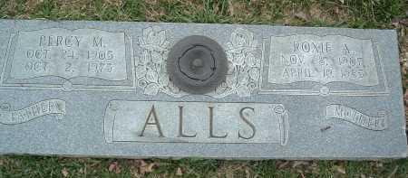 ALLS, ROXIE A. - Montgomery County, Virginia | ROXIE A. ALLS - Virginia Gravestone Photos
