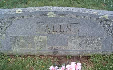 ALLS, MARY - Montgomery County, Virginia | MARY ALLS - Virginia Gravestone Photos