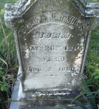 AMISS, EDWIN J. - Montgomery County, Virginia | EDWIN J. AMISS - Virginia Gravestone Photos