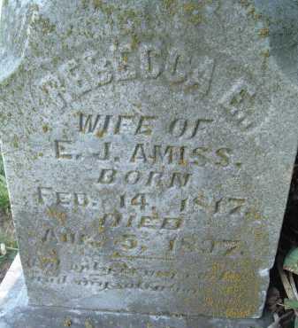 AMISS, REBECCA E. - Montgomery County, Virginia   REBECCA E. AMISS - Virginia Gravestone Photos