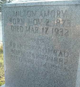 AMORY, FRANCES - Montgomery County, Virginia | FRANCES AMORY - Virginia Gravestone Photos