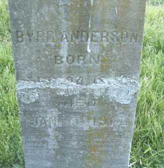 ANDERSON, BYRD - Montgomery County, Virginia | BYRD ANDERSON - Virginia Gravestone Photos