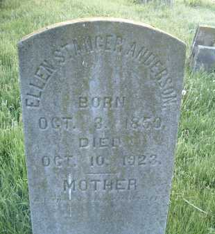 ANDERSON, ELLEN - Montgomery County, Virginia   ELLEN ANDERSON - Virginia Gravestone Photos