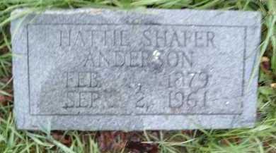 ANDERSON, HATTIE - Montgomery County, Virginia   HATTIE ANDERSON - Virginia Gravestone Photos