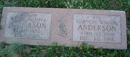 ANDERSON, GARNETT - Montgomery County, Virginia | GARNETT ANDERSON - Virginia Gravestone Photos