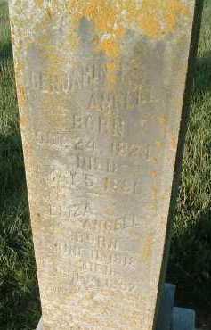 ANGELL, BENJAMIN - Montgomery County, Virginia | BENJAMIN ANGELL - Virginia Gravestone Photos