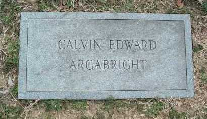 ARGABRIGHT, CALVIN EDWARD - Montgomery County, Virginia   CALVIN EDWARD ARGABRIGHT - Virginia Gravestone Photos
