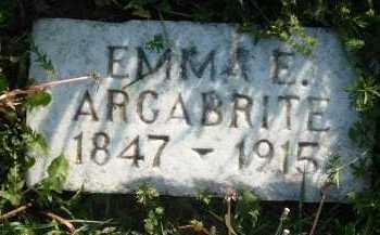 ARGABRITE, EMMA E. - Montgomery County, Virginia   EMMA E. ARGABRITE - Virginia Gravestone Photos