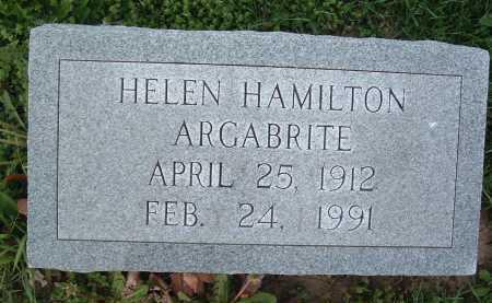 ARGABRITE, HELEN - Montgomery County, Virginia | HELEN ARGABRITE - Virginia Gravestone Photos