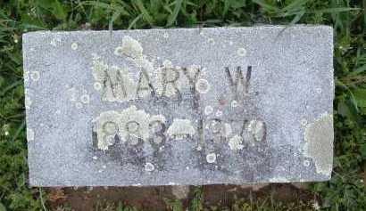 ARGABRITE, MARY W. - Montgomery County, Virginia   MARY W. ARGABRITE - Virginia Gravestone Photos