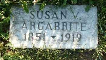 ARGABRITE, SUSAN V. - Montgomery County, Virginia   SUSAN V. ARGABRITE - Virginia Gravestone Photos