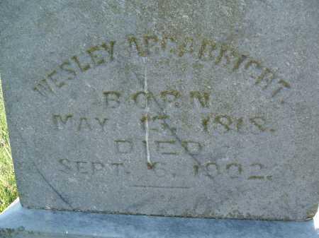 ARGABRITE, WESLEY - Montgomery County, Virginia | WESLEY ARGABRITE - Virginia Gravestone Photos