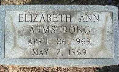 ARMSTRONG, ELIZABETH ANN - Montgomery County, Virginia | ELIZABETH ANN ARMSTRONG - Virginia Gravestone Photos
