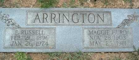 ARRINGTON, MAGGIE - Montgomery County, Virginia | MAGGIE ARRINGTON - Virginia Gravestone Photos