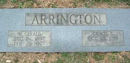 ARRINGTON, W. GERALD - Montgomery County, Virginia   W. GERALD ARRINGTON - Virginia Gravestone Photos