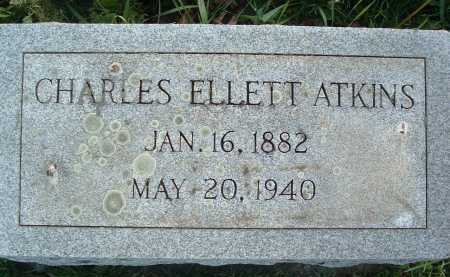 ATKINS, CHARLES ELLETT - Montgomery County, Virginia | CHARLES ELLETT ATKINS - Virginia Gravestone Photos