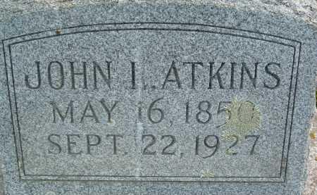 ATKINS, JOHN I. - Montgomery County, Virginia | JOHN I. ATKINS - Virginia Gravestone Photos