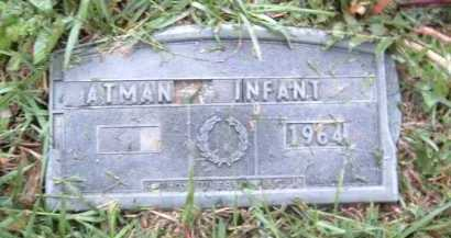 ATMAN, INFANT - Montgomery County, Virginia | INFANT ATMAN - Virginia Gravestone Photos
