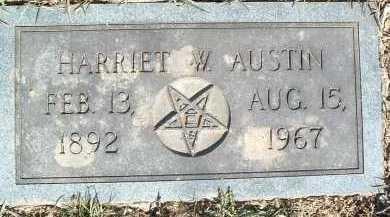 AUSTIN, HARRIET W. - Montgomery County, Virginia   HARRIET W. AUSTIN - Virginia Gravestone Photos