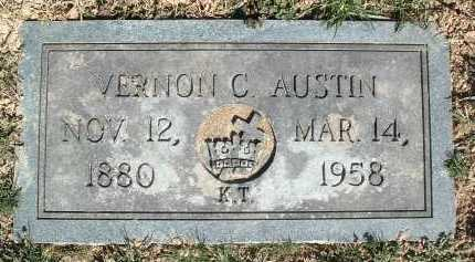 AUSTIN, VERNON C. - Montgomery County, Virginia | VERNON C. AUSTIN - Virginia Gravestone Photos