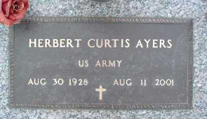 AYERS, HERBERT CURTIS - Montgomery County, Virginia | HERBERT CURTIS AYERS - Virginia Gravestone Photos