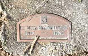 BAILEY, BILLY RAY - Montgomery County, Virginia   BILLY RAY BAILEY - Virginia Gravestone Photos