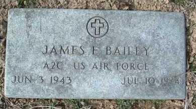 BAILEY, JAMES E. - Montgomery County, Virginia | JAMES E. BAILEY - Virginia Gravestone Photos