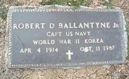 BALLANTYNE, ROBERT D. JR. - Montgomery County, Virginia | ROBERT D. JR. BALLANTYNE - Virginia Gravestone Photos