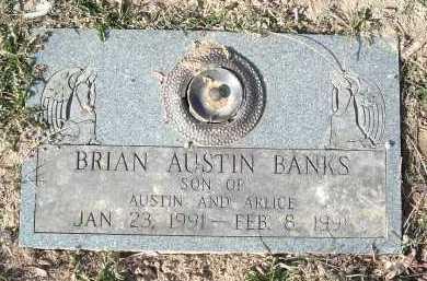 BANKS, BRIAN AUSTIN - Montgomery County, Virginia | BRIAN AUSTIN BANKS - Virginia Gravestone Photos