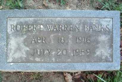 BANKS, ROBERT WARREN - Montgomery County, Virginia | ROBERT WARREN BANKS - Virginia Gravestone Photos