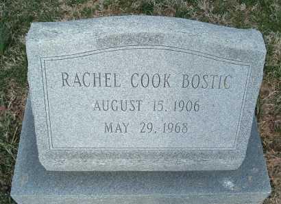 COOK BOSTIC, RACHEL - Montgomery County, Virginia | RACHEL COOK BOSTIC - Virginia Gravestone Photos