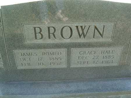 HALE BROWN, GRACE - Montgomery County, Virginia | GRACE HALE BROWN - Virginia Gravestone Photos