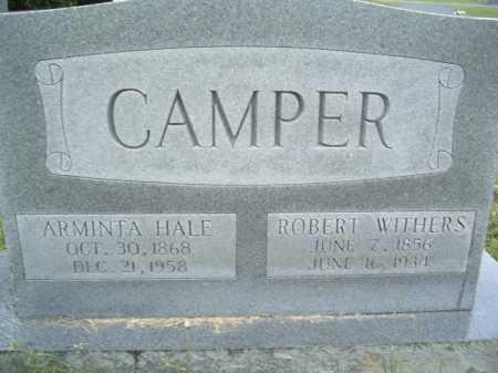 HALE CAMPER, ARMINTA - Montgomery County, Virginia | ARMINTA HALE CAMPER - Virginia Gravestone Photos