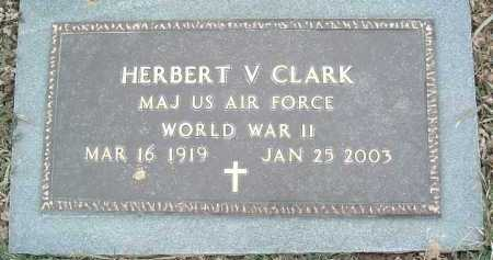 CLARK, HERBERT V. - Montgomery County, Virginia | HERBERT V. CLARK - Virginia Gravestone Photos
