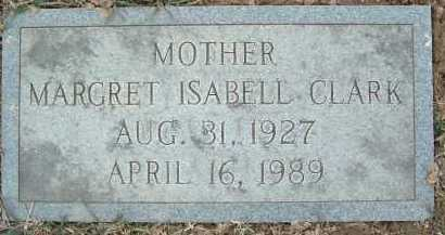 CLARK, MARGRET ISABELL - Montgomery County, Virginia | MARGRET ISABELL CLARK - Virginia Gravestone Photos